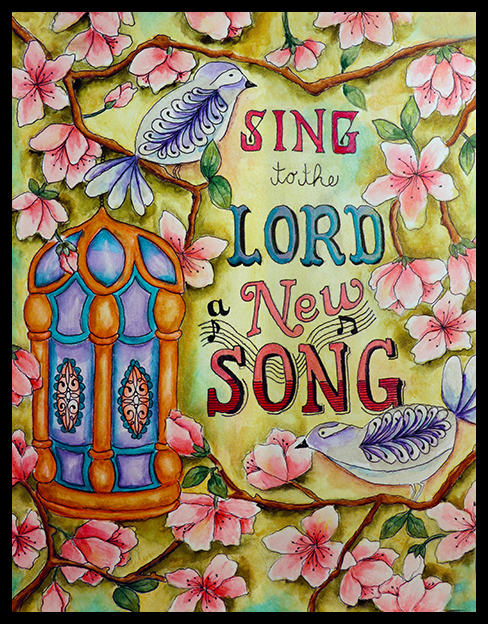 Sing to the Lord Bl
